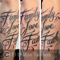 lettering tattoo image